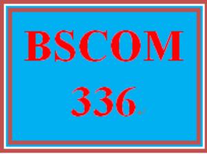 bscom 336 week 4 learning team script project: appendix