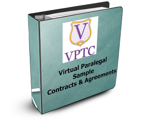 sample virtual paralegal contracts and agreement eworkbook