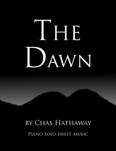 the dawn sheet music