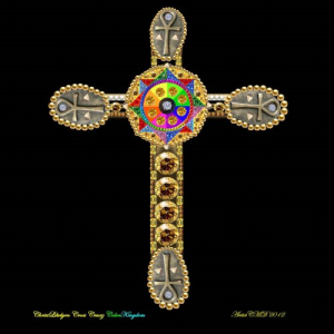 Chriyst-Likelyen Cross ColorKingdom Ankh1 | Photos and Images | Digital Art