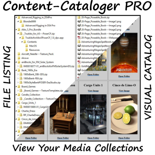 Second Additional product image for - Content Cataloger PRO for Windows