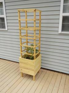 deck tomato planter