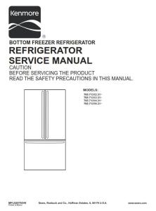 Kenmore 795.71312 71313 71314 71319 (.31... models) service manual | eBooks | Technical