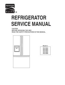 kenmore elite 795 74022 74023 74024 74025 74029 service manual and repair guide
