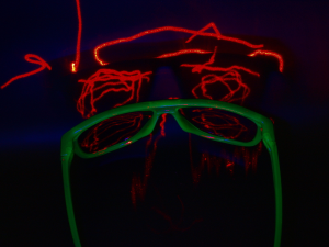 playing with lasers and stuff