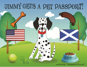new ebook jimmy gets a pet passport!