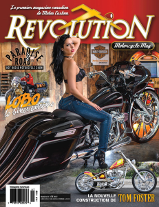 revolution motorcycle magazine vol.41 francais