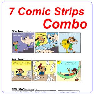 Comic Strips 3 Page Combined | eBooks | Comic Books