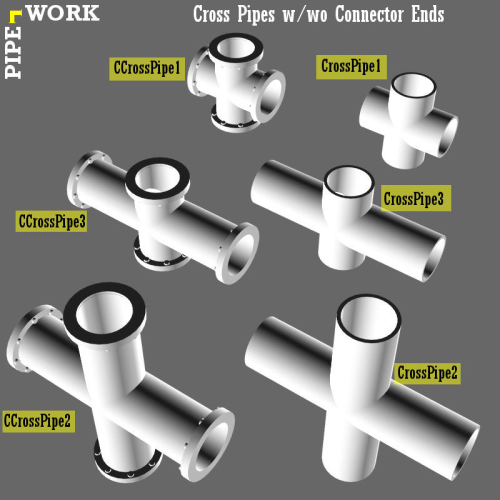Third Additional product image for - PIPE WORK for Game Dev (BLEND, DAE, FBX, OBJ)