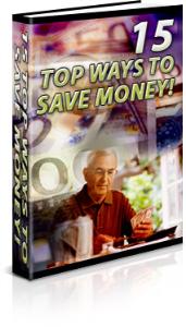 15 top ways to save money