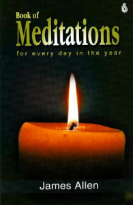 a book of mediations for every day of the year by james allen