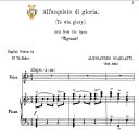 All'acquisto di gloria, High Voice in F Major, A.Scarlatti. Tablet Sheet Music. A5 (Landscape).Schirmer (1894) | eBooks | Sheet Music