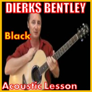 learn to play black by dierks bentley