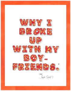 why i broke up with my boyfriends