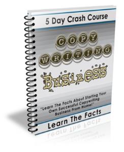 5 day crash course copywriting business