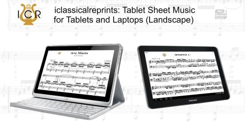 First Additional product image for - Lasciatemi morire, High Voice in F Minor, C.Monteverdi. For Soprano, Tenor. Tablet Sheet Music. A5 (Landscape). Schirmer (1894)