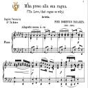M'ha preso alla sua ragna, Medium Voice in A Flat Major, P.D.Paradies. For Mezzo, Baritone, Soprano. Tablet Sheet Music. A5 (Landscape). Schirmer (1894)   eBooks   Sheet Music