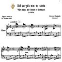 Nel cor più non mi sento, Medium-High Voice in F Major, G.Paisiello. For Soprano, Mezzo. Tablet Sheet Music. A5 (Landscape). Schirmer (1894) | eBooks | Sheet Music