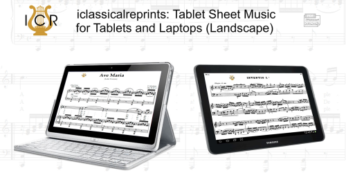 Second Additional product image for - Nel cor più non mi sento, Low Voice in E Flat Major, G.Paisiello. For Contralto, Countertenor. Tablet Sheet Music. A5 (Landscape). Schirmer (1894)