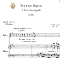 Non posso disperar, Medium Voice in E Minor, G.M.Bononcini. For Soprano, Mezzo, Tenor.   Tablet Sheet Music. A5 (Landscape). Schirmer (1894). | eBooks | Sheet Music