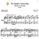 Pur dicesti, Low Voice in C Major, A.Lotti. For Contralto, Bass.  Tablet Sheet Music. A5 (Landscape). Schirmer (1894) | eBooks | Sheet Music