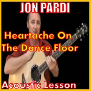 learn to play heartache on the dance floor by jon pardi