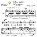 Sebben crudele, Medium Voice in D Minor, A.Caldara. For Mezzo, Baritone. Tablet Sheet Music. A5 (Landscape).  Schirmer (1894). | eBooks | Sheet Music