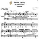 Sebben crudele, High Voice in E Minor, A.Caldara. For Soprano, Tenor.  Tablet Sheet Music. A5 (Landscape). Schirmer (1894)   eBooks   Sheet Music