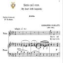 Sento nel core, Medium Voice in F Minor, A.Scarlatti. For Mezzo, Baritone.  Tablet Sheet Music. A5 (Landscape). Schirmer (1894) | eBooks | Sheet Music