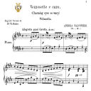Vezzosete e care pupillette, Medium-Low Voice in E Major, A.Falconieri. For Mezzo, Baritone. Tablet Sheet Music. A5 (Landscape). Schirmer (1894) | eBooks | Sheet Music