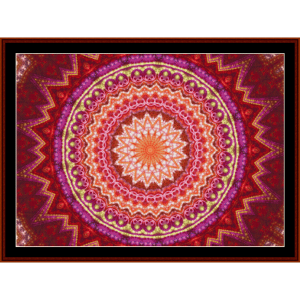 Fractal 615 cross stitch pattern by Cross Stitch Collectibles | Crafting | Cross-Stitch | Wall Hangings