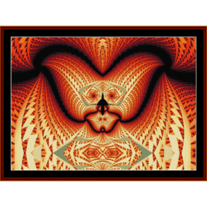 Fractal 618 cross stitch pattern by Cross Stitch Collectibles | Crafting | Cross-Stitch | Wall Hangings