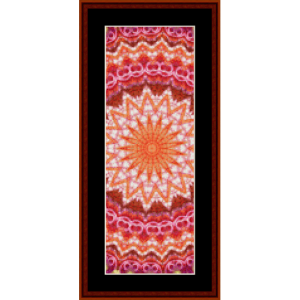 fractal 615 bookmark by cross stitch collectibles