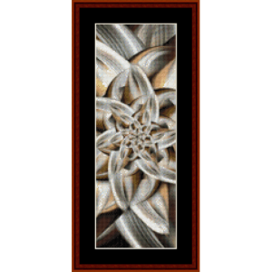 fractal 617 bookmark by cross stitch collectibles