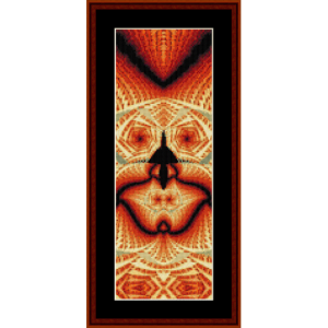 fractal 618 bookmark by cross stitch collectibles