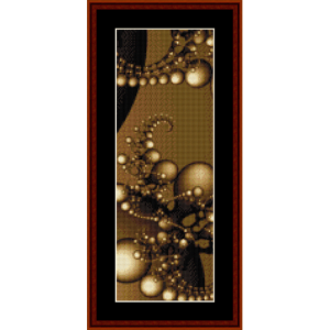 fractal 619 bookmark by cross stitch collectibles