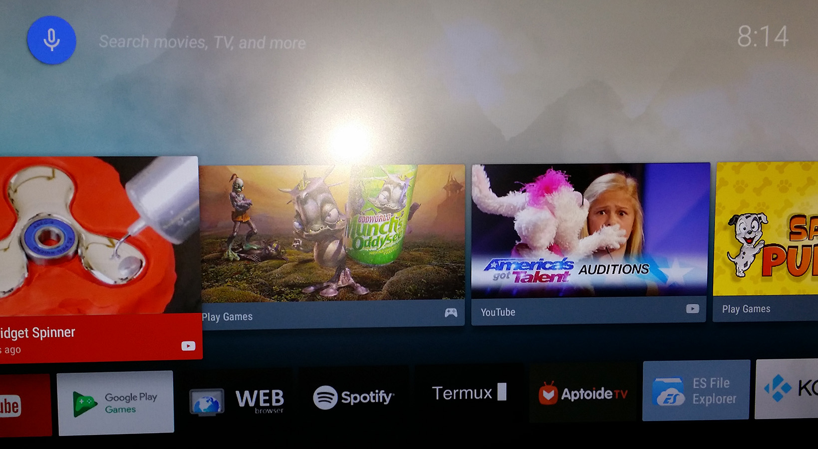 RaspAnd Nougat 7 1 2 for Raspberry Pi 3 and Pi 2 Build 170605 with GAPPS,  Kodi 17 3, Aptoide TV, SnapTube and Clash of Clans