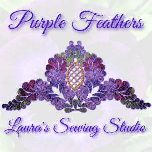 purple feathers kaleidoscope exp