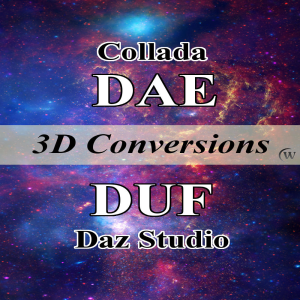 Convert Collada DAE Models to Daz Studio DUF Props | eBooks | Computers