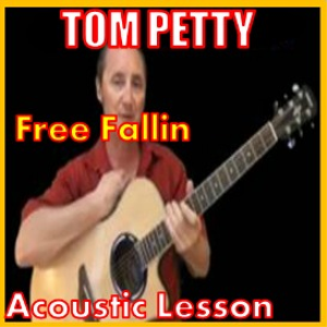 learn to play free fallin by tom petty
