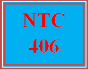 ntc 406 week 5 learning team: generic manufacturing company project, part iv: internet security