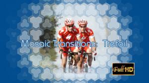 mosaic transitions: trefoil