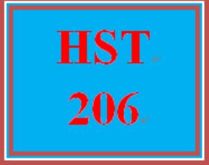 HST 206 Week 5 Journal Entry   eBooks   Education