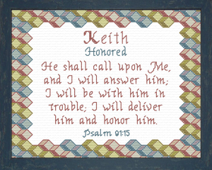 name blessings - keith