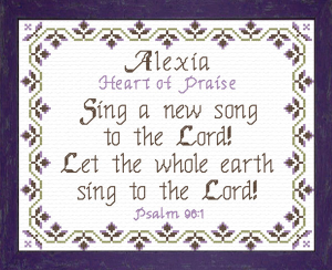 Name Blessings - Alexia | Crafting | Cross-Stitch | Religious