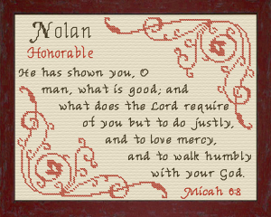 name blessings - nolan 2