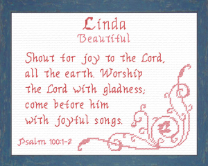 Name Blessings - Linda 2 | Crafting | Cross-Stitch | Other