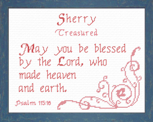 name blessings - sherry