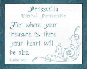 name blessings - prisscilla