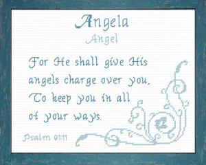 name blessings - angela